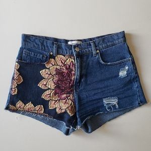 Denim Mango Shorts